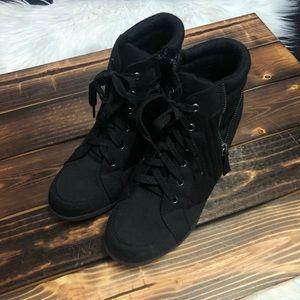 Justice Wedge Sneakers
